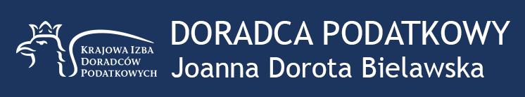 Doradca podatkowy Joanna Dorota Bielawska